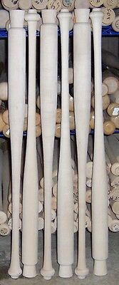 Wood Softball Bats (Blem Bats) Maple, Ash, Birch - SELECT LENGTHS YOU NEED