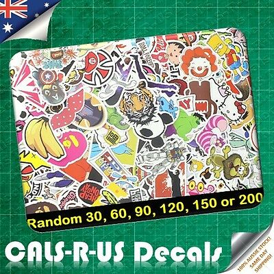 200 Luggage Sticker BOMB Random Car Skateboard Scooter Guitar Snowboard Laptop