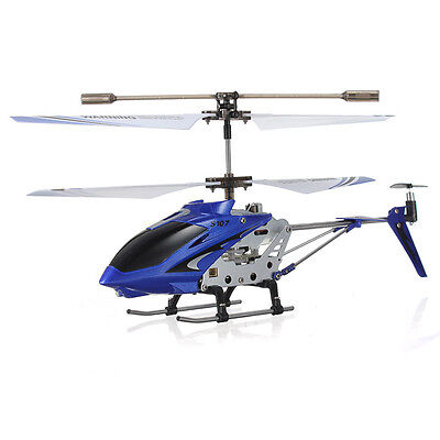 Genuine SYMA S107G 3.5 Channel 3CH Mini Metal Remote Control RC Helicopter GYRO