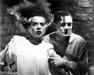 Elsa Lanchester and Colin Clive in The Bride of Frankenstein 8x10 Photo 004