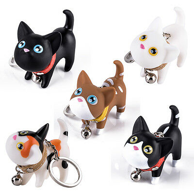Brand New Cute Cat Kitten Key Chains Keyrings HandBags Pendant Ornament Kid Toy