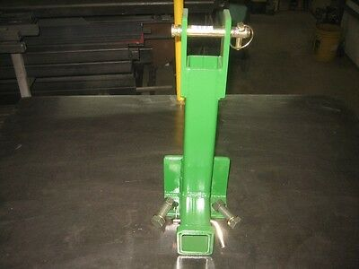 3 point Heavy Duty Draw Bar Trailer Hitch for John Deere with all pins & bolts