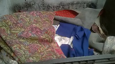 1kg Fabric Remnants, Scrap, Offcuts, Crafts Etc
