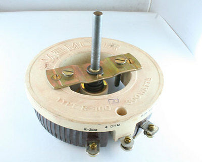 Memcor 4 Ohm 300W Single Turn Rheostat Tru-Ohm RP401FK4R0KK 4ohm 300 Watt