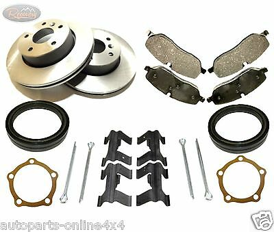 Land Rover Discovery 1 300Tdi Front Brake Disc & Pad Set Incl Fitting Kit -Ap103