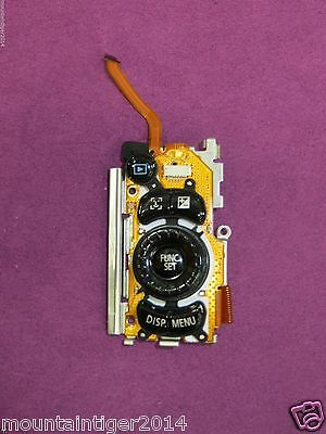 GENUINE CANON POWERSHOT SX120 IS REAR / BACK BUTTONS CONTROL BOARD REPLACEMENT