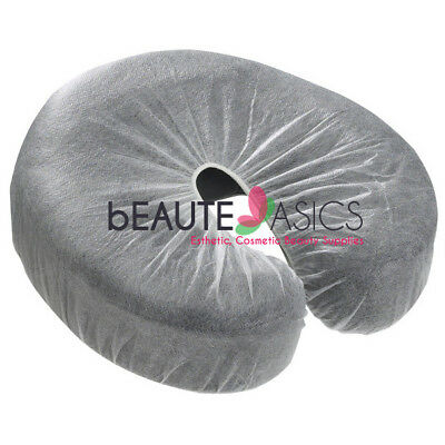100 Disposable Fitted Massage Face Rest Cradle Covers - bd1213x1