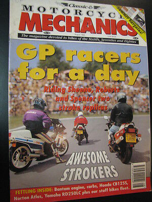 Motorcycle Mechanics #94 August 1995 o.a. GP Racers for a Day