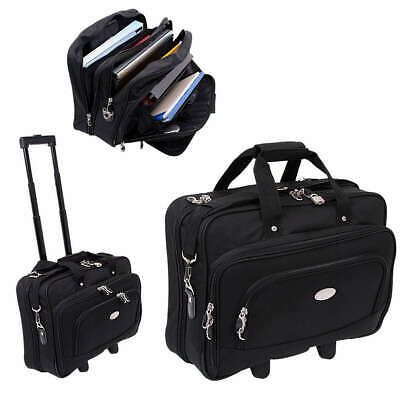 Laptop Trolley Tasche Notebook Piloten Koffer Manager Boardcase