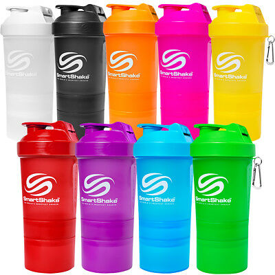 SmartShake Original 20 oz. Neon Shaker Bottle