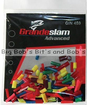 NEW Pack Mixed Pvc FLOAT RUBBERS Chopped Assorted Pole Coarse Fishing Grandeslam