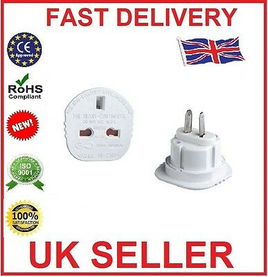 UK3 Pin To us 2Pin Travel Plug Adaptor AUS Japan Canada New Continental Adaptor