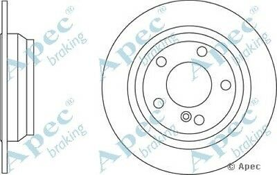 1x OE Quality Replacement Rear Axle Apec Solid Brake Disc 5 Stud 280mm Single