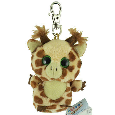 Aurora World Plush - YooHoo Friends Clip On - TOPSEE the Giraffe (3 inch) - New