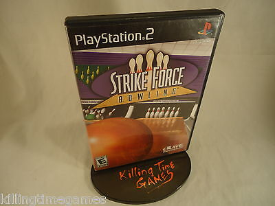 Strike Force Bowling ! ( Sony Playstation 2 System PS2 Game ) COMPLETE, TESTED !