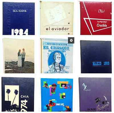 HUGE HIGH SCHOOL + YEARBOOK STARTER LOT of 220 Yearbooks Resell Wholesale