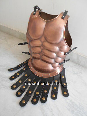 Muscle Breast Plate Armour Jacket W/Cuirass Skirted Jacket reenactement gift