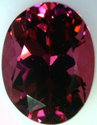 Natural Fine Rose With Pink Flashes Rhodolite Garnet Oval - Sri Lanka -Top Grade