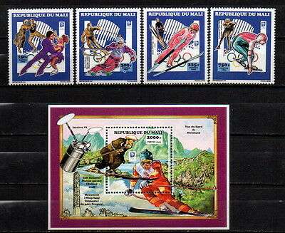 MALI 1994 SPORT, OLYMPIC GAMES, SPACE  MNH MI. 1191 - 94 BL. 30