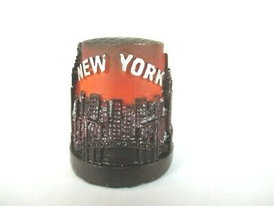New York Fingerhut Thimble aus Poly,Skyline,Empire,Chrylser,Freiheitsstatue