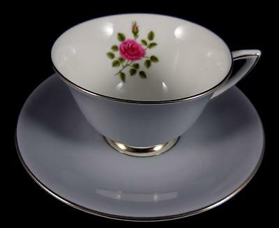 Royal Doulton Chateau Rose 2 ½  Inch Cup And Saucer