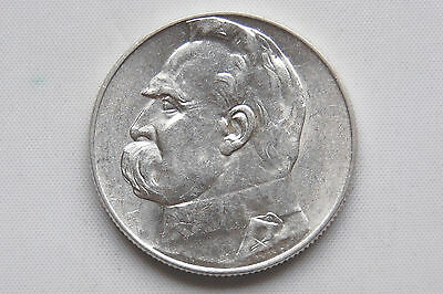 Poland 5 zlotych 1936  Silver  XF+ Condition  !!!!!!!