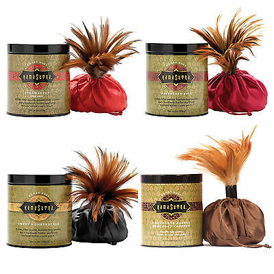 Kama Sutra Honey Dust Kissable Body Powder - Choice of 4 Flavors - Authentic