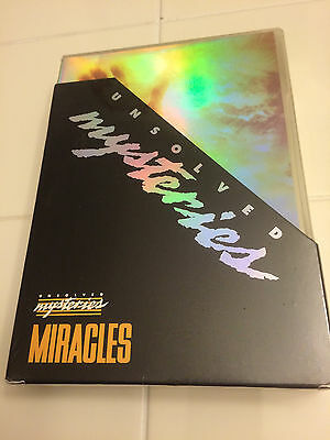 Unsolved Mysteries - Miracles DVD 4 Disc Set New Sealed Getting Hard To Find