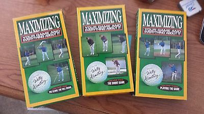 Maximizing Your Game & Everything About It Wally Armstrong | All 3 Vol. Golf VHS