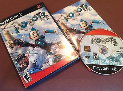 Robots (PS2)50%off shipping on additional purchase