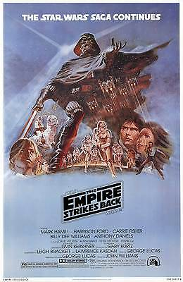 """STAR WARS  EMPIRE STRIKES BACK""..  Classic Sci-fi  Movie Poster A1A2A3A4Sizes"