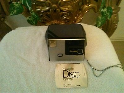 KODAK disc 4000 vintage Camera with case, beautiful collectible ...