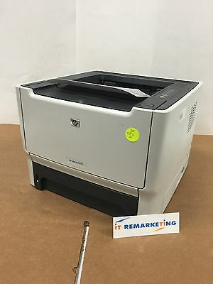 HP LaserJet P2015 Printer 30K Pages Printed 1% Toner CB366A