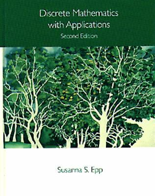Discrete Mathematics with Applications by Susanna S. Epp (1996, Hardcover)