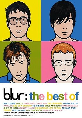 BLUR The Best Of PHOTO Print POSTER Band The Magic Whip Hyde Park Damon Albarn 1