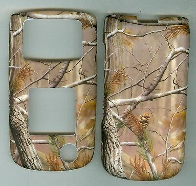 OAK TREE CAMOUFLAGE Rubberized hard Case Cover Samsung SGH Rugby II 2 A847 AT&T