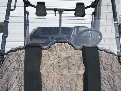 """Coleman Outfitter 500/700 1/4"""" Scratch Resistant Half Windshield"""