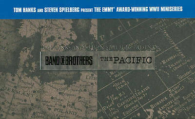 BAND OF BROTHERS + THE PACIFIC Brand New 13-Disc Blu-Ray Box Set HBO Miniseries