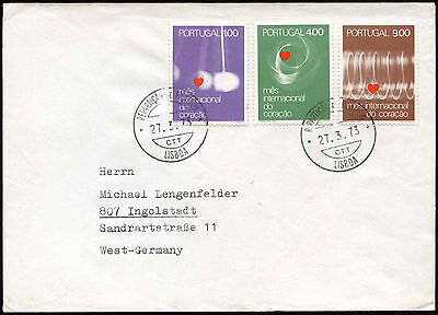 Portugal 1973 Cover To Germany #C18572