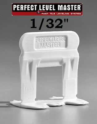 "1/32"" PERFECT LEVEL MASTER™  T-Lock™  tile leveling system wall floor spacers"
