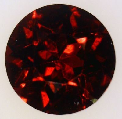 Rare Natural Deep Red Anthill Chrome Pyrope Garnet - Arizona - Round Brilliant