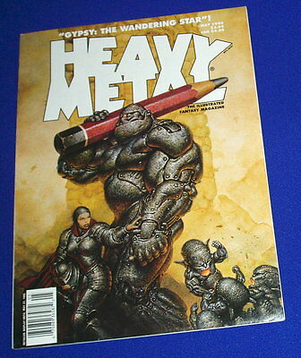Heavy Metal May 1995.  VFN