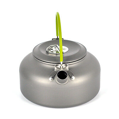 800ML Portable Outdoor Camping  Coffee Pot Survival Aluminum Water Kettle Teapot
