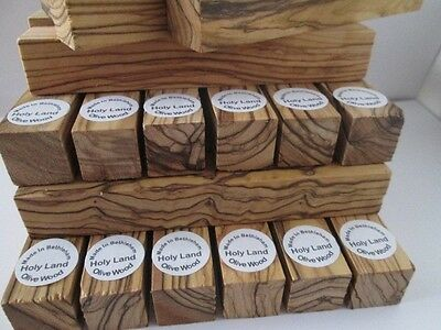 80 Bethlehem / Holyland VERY BEAUTIFUL Olive Wood Pen Turning Blanks.