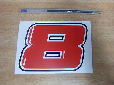 GUY MARTIN race number 8 decal/sticker- 110mm x 80mm  // 2015 BMW Tyco