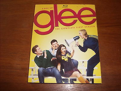 Glee: The Complete First Season (Blu-ray Disc, 2010, 4-Disc Set)