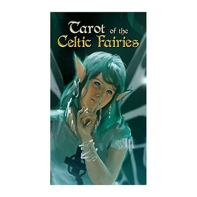 NEW Tarot of the Celtic Fairies Deck Cards Lo Scarabeo