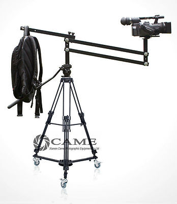 4.2 Foot Mini Video Camera Crane Jib Arm Portable Pan Tilt Crane Jib