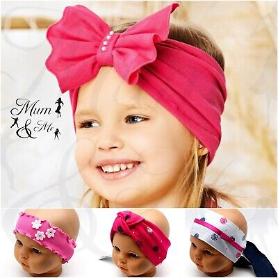 NEW Girls Baby Headband  Hair Band Toddler Flower Band