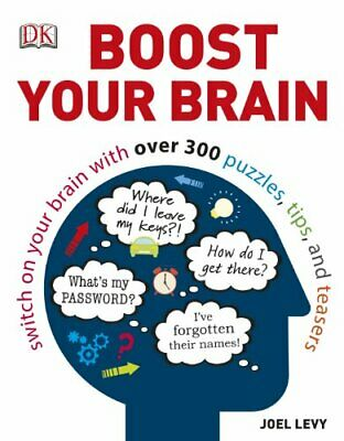 Boost Your Brain by Levy, Joel Book The Cheap Fast Free Post